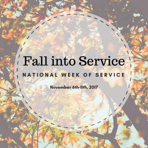 Fall into Service National Service Week