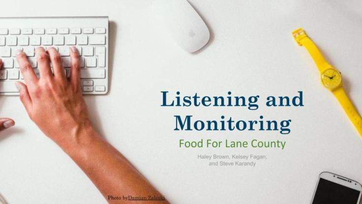 ListeningMonitoring & Influencer Identification